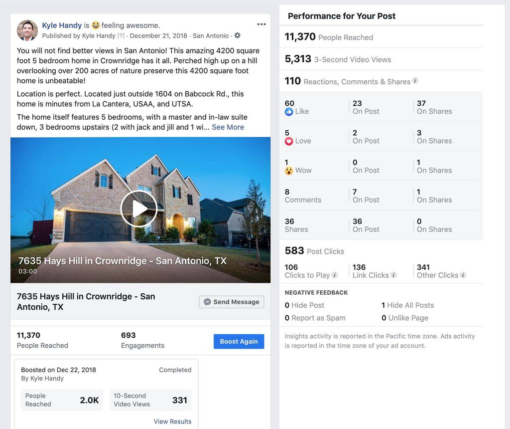 Facebook Business Page (Video)