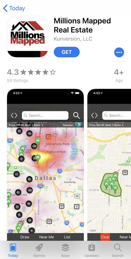 Millions Mapped App Download