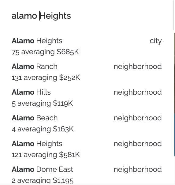 kvCORE Home Search Categories
